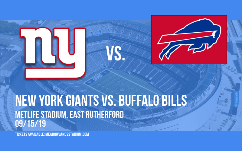 New York Giants vs. Buffalo Bills at MetLife Stadium