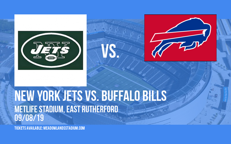 New York Jets vs. Buffalo Bills at MetLife Stadium