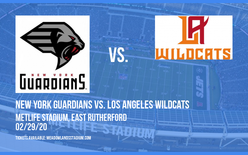 New York Guardians vs. Los Angeles Wildcats at MetLife Stadium