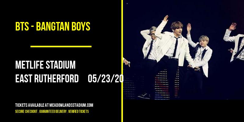 BTS - Bangtan Boys at MetLife Stadium