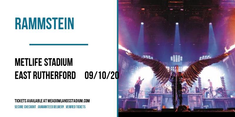 Rammstein [POSTPONED] at MetLife Stadium