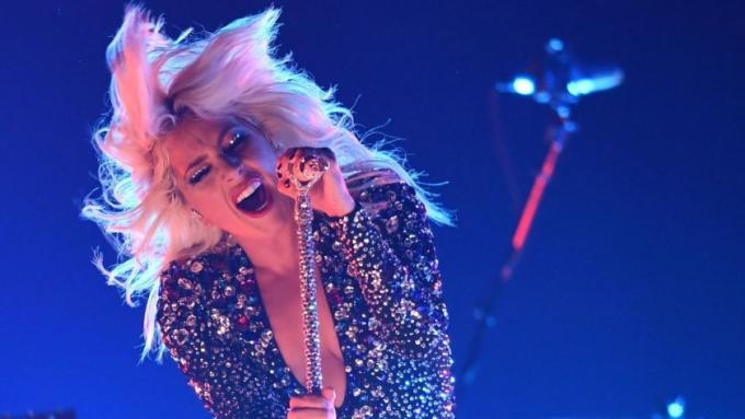 Lady Gaga at MetLife Stadium
