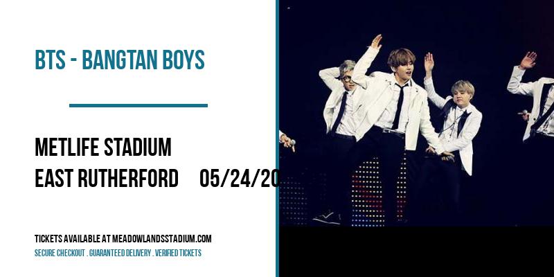 BTS - Bangtan Boys [CANCELLED] at MetLife Stadium