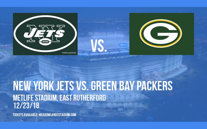 New York Jets vs. Green Bay Packers at MetLife Stadium