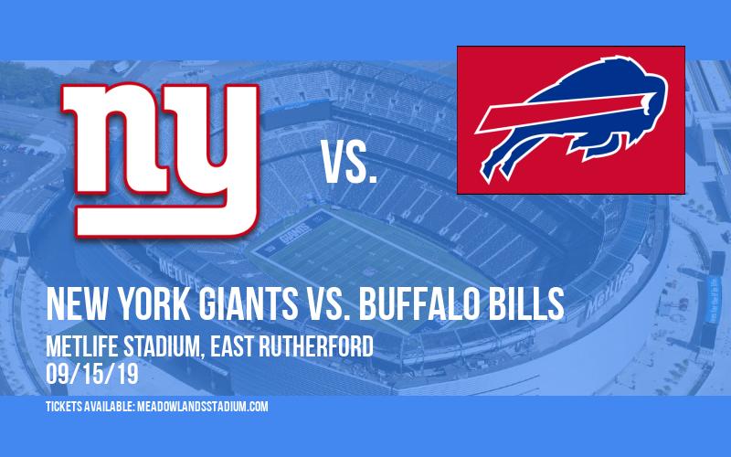New York Giants vs. Buffalo Bills at MetLife Stadium