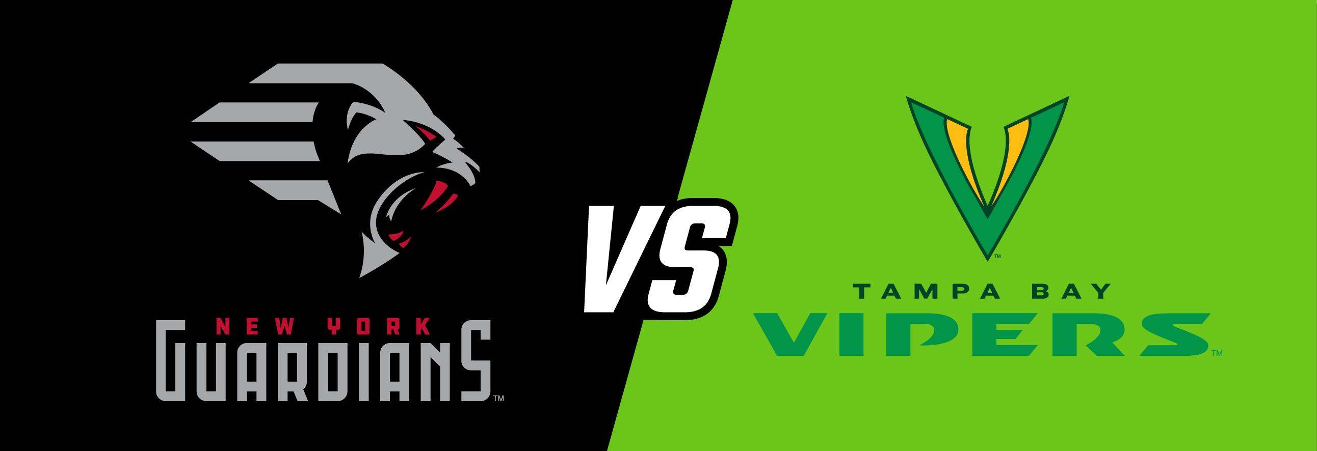 New York Guardians vs. Tampa Bay Vipers at MetLife Stadium