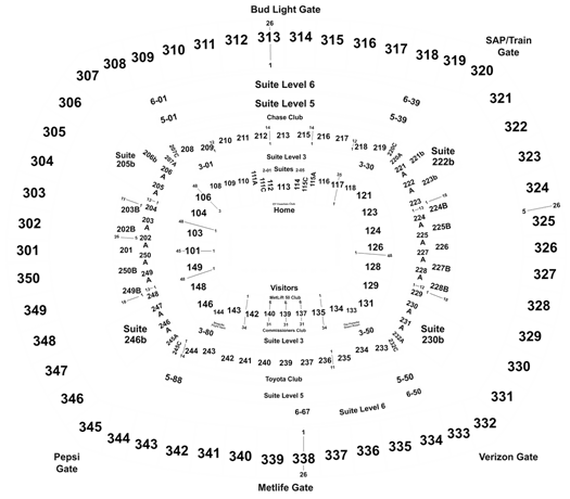 2020 New York Jets Season Tickets (Includes Tickets To All Regular Season Home Games) at MetLife Stadium