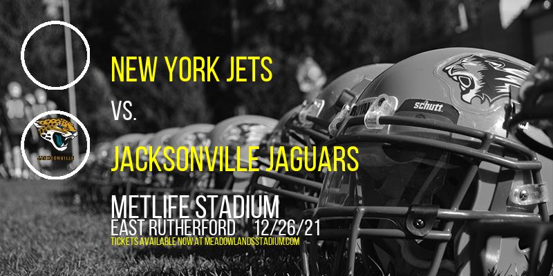 New York Jets vs. Jacksonville Jaguars at MetLife Stadium